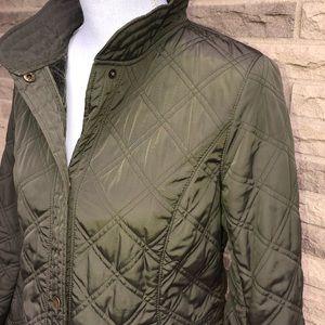 Talbots Jackets & Coats - Olive green Talbots Petites coat